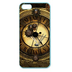 Wonderful Steampunk Desisgn, Clocks And Gears Apple Seamless Iphone 5 Case (color) by FantasyWorld7