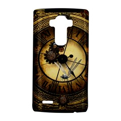 Wonderful Steampunk Desisgn, Clocks And Gears Lg G4 Hardshell Case by FantasyWorld7