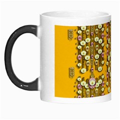 Rain Showers In The Rain Forest Of Bloom And Decorative Liana Morph Mugs by pepitasart