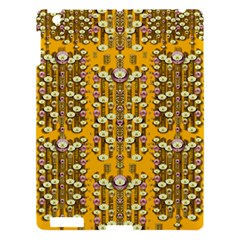 Rain Showers In The Rain Forest Of Bloom And Decorative Liana Apple Ipad 3/4 Hardshell Case by pepitasart