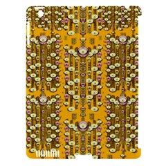 Rain Showers In The Rain Forest Of Bloom And Decorative Liana Apple Ipad 3/4 Hardshell Case (compatible With Smart Cover) by pepitasart