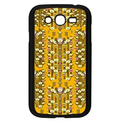 Rain Showers In The Rain Forest Of Bloom And Decorative Liana Samsung Galaxy Grand Duos I9082 Case (black) by pepitasart