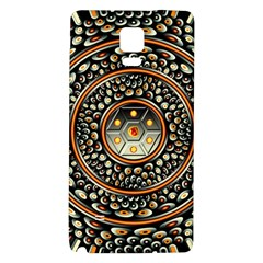 Dark Metal And Jewels Galaxy Note 4 Back Case by linceazul