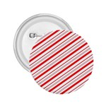 Candy Cane Stripes 2.25  Buttons