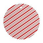 Candy Cane Stripes Ornament (Round)