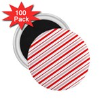 Candy Cane Stripes 2.25  Magnets (100 pack)