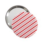 Candy Cane Stripes 2.25  Handbag Mirrors