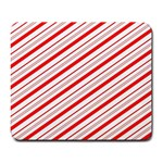 Candy Cane Stripes Large Mousepads
