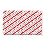 Candy Cane Stripes Magnet (Rectangular)