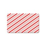 Candy Cane Stripes Magnet (Name Card)