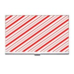 Candy Cane Stripes Business Card Holders