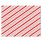 Candy Cane Stripes Rectangular Jigsaw Puzzl