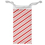 Candy Cane Stripes Jewelry Bag