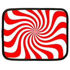 Peppermint Candy Netbook Case (large)