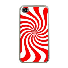 Peppermint Candy Apple Iphone 4 Case (clear)