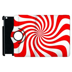 Peppermint Candy Apple Ipad 2 Flip 360 Case