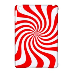 Peppermint Candy Apple Ipad Mini Hardshell Case (compatible With Smart Cover) by jumpercat