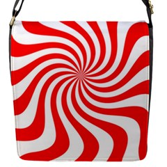 Peppermint Candy Flap Messenger Bag (s) by jumpercat