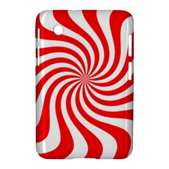 Peppermint Candy Samsung Galaxy Tab 2 (7 ) P3100 Hardshell Case  by jumpercat