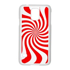 Peppermint Candy Samsung Galaxy S5 Case (white) by jumpercat