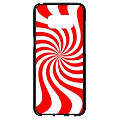 Peppermint Candy Samsung Galaxy S8 Black Seamless Case