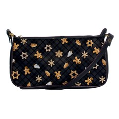 Gingerbread Dark Shoulder Clutch Bags by jumpercat