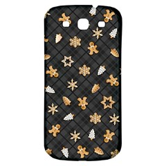 Gingerbread Dark Samsung Galaxy S3 S Iii Classic Hardshell Back Case by jumpercat