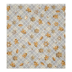 Gingerbread Light Shower Curtain 66  X 72  (large)  by jumpercat