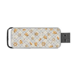 Gingerbread Light Portable Usb Flash (one Side) by jumpercat