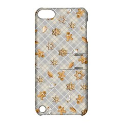 Gingerbread Light Apple Ipod Touch 5 Hardshell Case With Stand by jumpercat