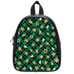 Gingerbread Green School Bag (small) by jumpercat