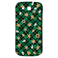 Gingerbread Green Samsung Galaxy S3 S Iii Classic Hardshell Back Case by jumpercat