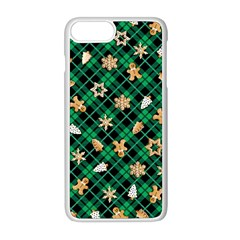 Gingerbread Green Apple Iphone 8 Plus Seamless Case (white)