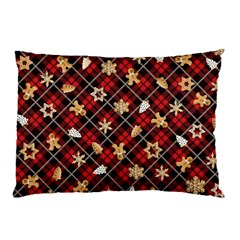 Gingerbread Red Pillow Case by jumpercat