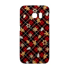 Gingerbread Red Galaxy S6 Edge