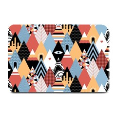 Abstract Diamond Pattern Plate Mats by allthingseveryday