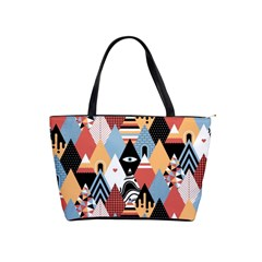 Abstract Diamond Pattern Shoulder Handbags by allthingseveryday