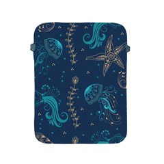 Arabesque Vintage Graphic Nature Apple Ipad 2/3/4 Protective Soft Cases by allthingseveryday