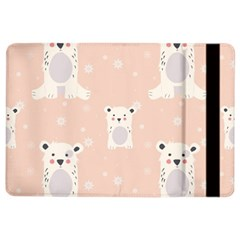 Cute Polar Bear Pattern Ipad Air 2 Flip by allthingseveryday