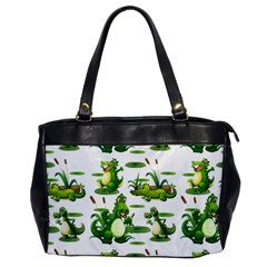 Crocodiles In The Pond Office Handbags by allthingseveryday