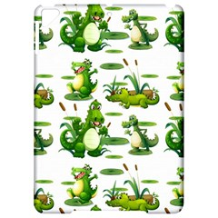 Crocodiles In The Pond Apple Ipad Pro 9 7   Hardshell Case by allthingseveryday