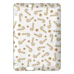 Golden Candycane Light Kindle Fire Hdx Hardshell Case by jumpercat
