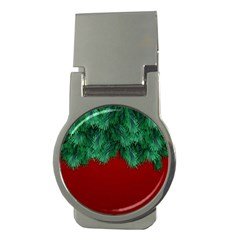 Xmas Tree Money Clips (round)  by jumpercat