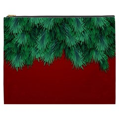 Xmas Tree Cosmetic Bag (xxxl)  by jumpercat