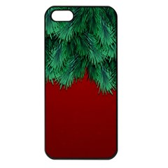Xmas Tree Apple Iphone 5 Seamless Case (black) by jumpercat