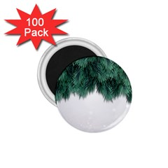 Snow And Tree 1 75  Magnets (100 Pack)  by jumpercat