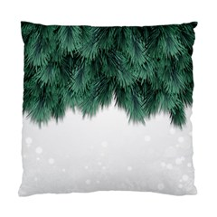 Snow And Tree Standard Cushion Case (two Sides) by jumpercat