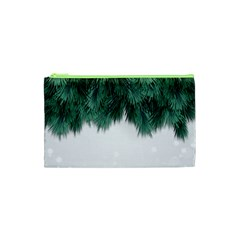 Snow And Tree Cosmetic Bag (xs) by jumpercat