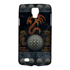Awesome Tribal Dragon Made Of Metal Galaxy S4 Active by FantasyWorld7