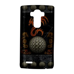 Awesome Tribal Dragon Made Of Metal Lg G4 Hardshell Case by FantasyWorld7
